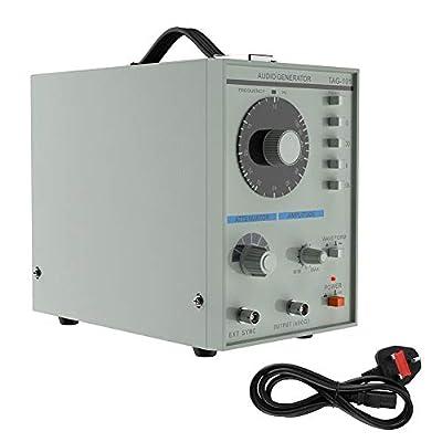 Wandisy Signal Generator, Low Frequency Audio Signal Generator Signal Source 10Hz-1MHz Electronic Measurement