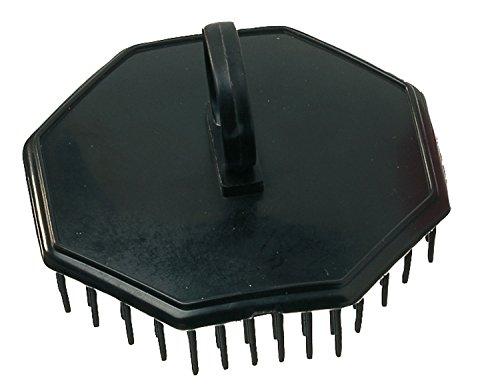Comair shampoo- en hoofdmassageborstel shampoo- en hoofdmassageborstel, zwart
