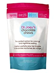 Afternoon snacking and night time cravings can often get in the way of healthy eating. This is why Dr. Joey's Chocolate Chews was created – the perfect chocolatey indulgence! This is the re branded SKINNY CHEWS! Next time you have a hunger pang that ...