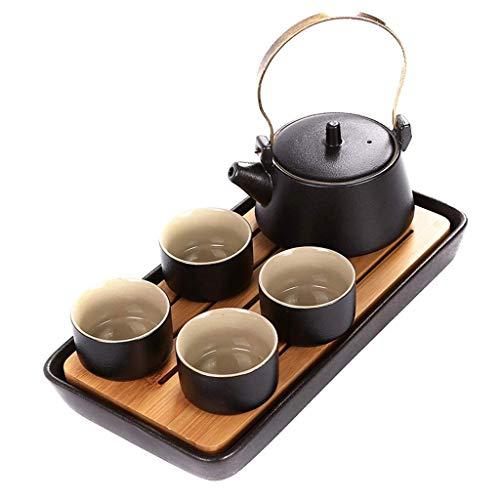 Juegos de Tetera para Mesa de té, Juego de té Chino Hecho a Mano, Tetera de Porcelana, Juegos de té creativos para Tazas de té, Juego Completo