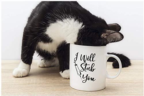 Product Image 8: I Will Stab You – Funny Nurse Week + Day Gag Gift Ideas For Coffee Mugs For Nurses – Nursing Graduation Mug Gift and Presents – Nursing Mugs For Nurses Birthday and Cute Coffee Cups For Nursing Gifts!