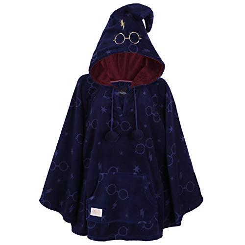 Poncho Bleu Marin Harry Potter XS/S