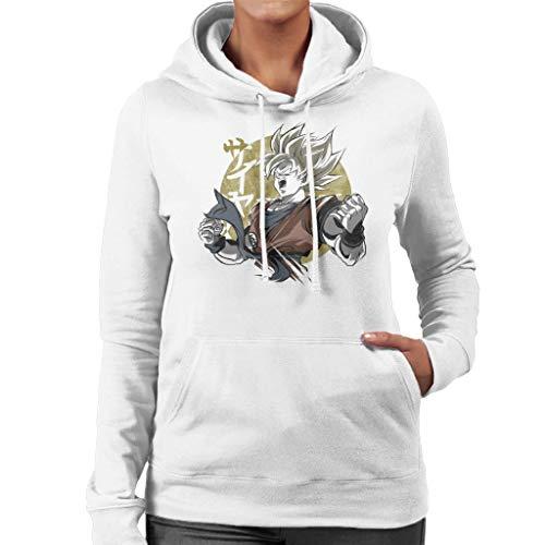 Cloud City 7 Goku Gold Dragon Ball Z Women's Hooded Sweatshirt