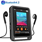 "MP3 Player, 16GB Bluetooth MP3 Player mit 2.4"" LCD Touchscreen, Sports MP3 Player"