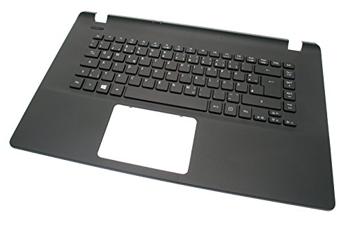 Acer Original Keyboard German (DE) + Top Case Black Aspire ES1-522 Series