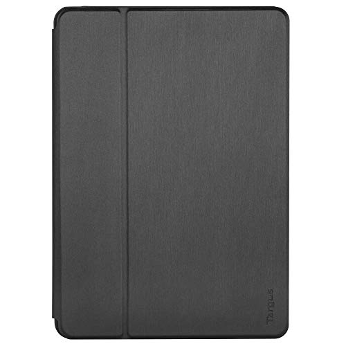 Targus Click-In Apple iPad (7th Gen) 10.2-Inch, iPad Air 10.5-Inch and iPad Pro 10.5-Inch Protective Tablet Cover Case, Drop- Safe Protection, Water-resistant, Black (THZ850GL)