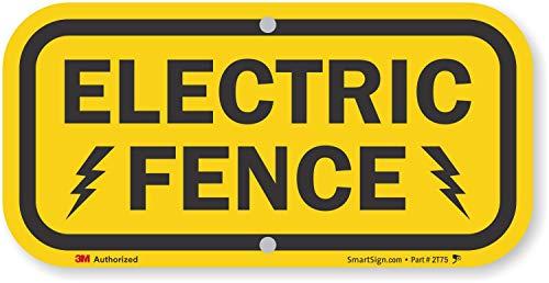 señal cerca eléctrica fabricante SmartSign