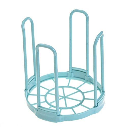Chytaii Égouttoir à Vaisselle Couverts Porte-Vaisselle Support Rangement de Bol en Plastique Pliable Ustensile de Cuisine