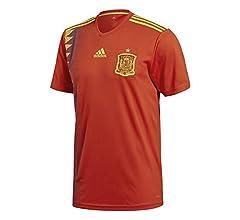 adidas Fef H JSY Camiseta de Manga Corta, Hombre, Victory Red, L ...