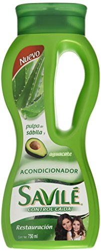 Savile Conditioner with Aloe Pulp and Avocado/Acondicionador Con Pulpa De Sabila Y Aguacate Para Restauracion
