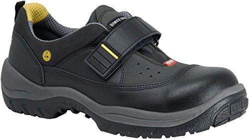 ejendals 3350-38 Jalas 3350 Easy Grip-Zapatos de Seguridad (Talla, Negro y Amarillo, 38 EU 🔥