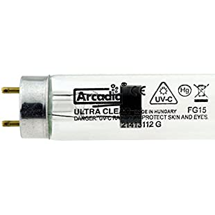 Arcadia Ultra Clear 15W UV Bulb FG15