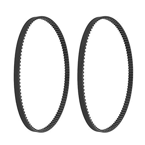 2 Stück 900-99915-2 HTD540 Mischer Gummi Antriebsriemen Ersatz-PIX-Zahnriemen Kompatibel mit Minimix 150 GX120 3,5HP