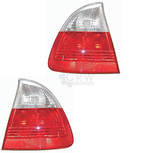 Rückleuchten Heckleuchten Set außen E46 3er Touring 98-05 Weiß/Rot