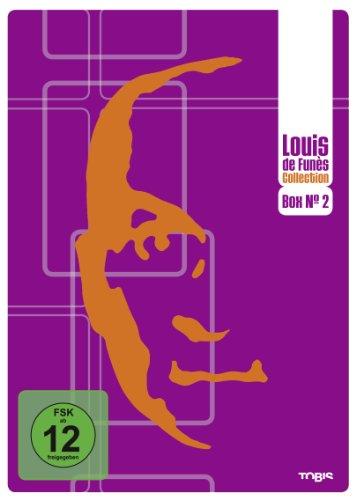 Louis de Funès DVD Collection Box No. 2