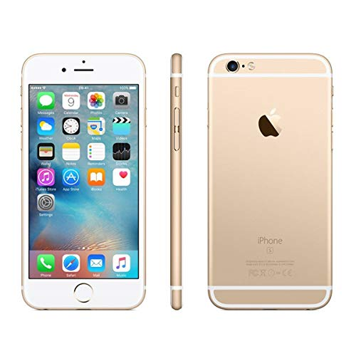 iPhoneCPO Apple iPhone 6S 11,9 cm (4.7') 1 GB 64 GB SIM única 4G Oro 1715 mAh - Smartphone (11,9 cm (4.7'), 1 GB, 64 GB, 12 MP, iOS 9, Oro)