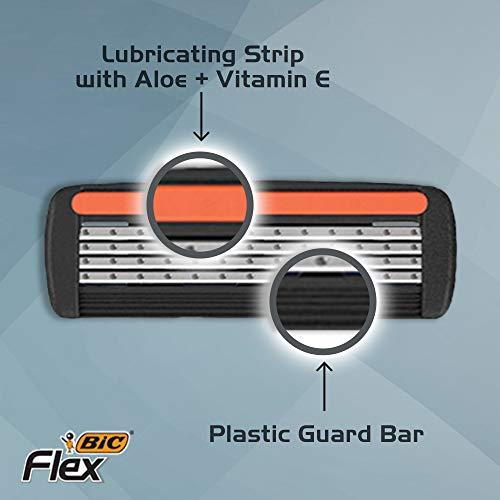 7. BIC Flex 4 Sensitive Razor