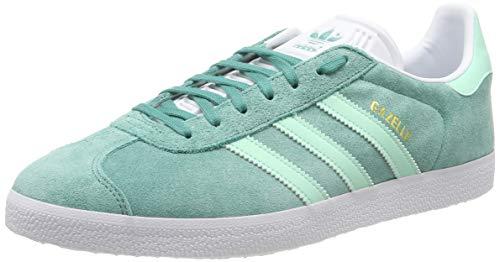 adidas Gazelle, Zapatillas de Gimnasia para Hombre, Verde (True Green/Clear Mint/FTWR White True Green/Clear Mint/FTWR White), 37 1/3 EU