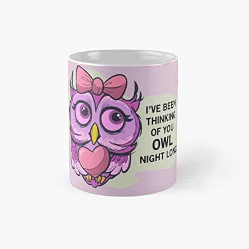 Owl Night Long Classic Mug 11 Oz