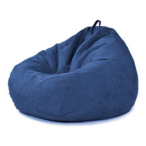 SD Bean Bag Chaise/Pouf Poire/Chaise De Sol/Durable/avec Mousse Ultra Confortable/avec Poignée/avec Fermeture Éclair/pour Enfants Et Adultes/90 * 110 cm