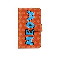 [bodenbaum] iPhone 8 手帳型 スマホケース カード ミラー スマホ ケース カバー ケータイ 携帯 Apple アップル アイフォン エイト docomo au SoftBank SIMフリー MEOW ドット カラフル a-253 (E.ブルー)