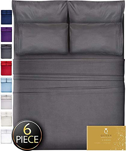 Image of 6 Piece King Size Sheets...: Bestviewsreviews