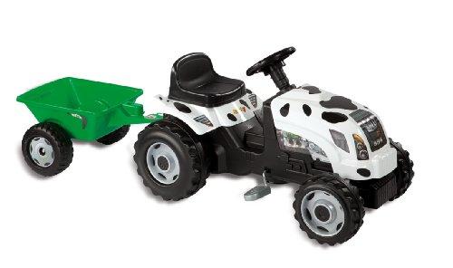 Smoby 033352 - Modellino trattore con rimorchio