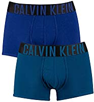 Calvin Klein Uomo 2 Pack Intense Power Trunks, Multicolore, M