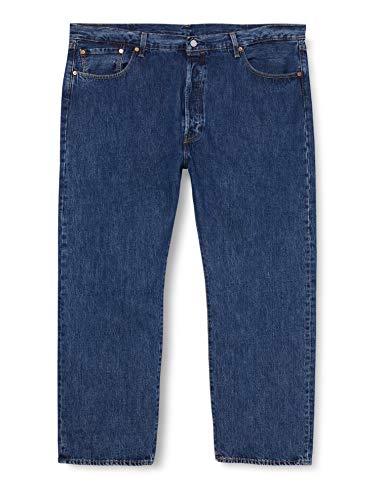 Levi's Big and Tall Herren 501 Levi's Original B&T Jeans, Stonewash 80684, 4432L