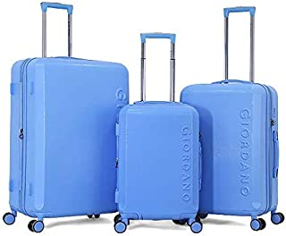 حقيبة جيوردانو - 5152 طقم حقائب سفر ناعم 3 قطع مع 4 عجلات