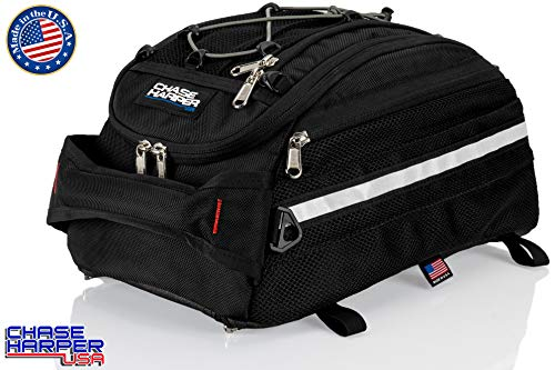 Chase Harper USA 5400 CR2 Tail Trunk- Water-Resistant, Tear-Resistant, Industrial Grade Ballistic Nylon - Universal Fit Adjustable Bungee Mounting System
