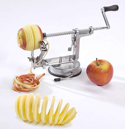 Éplucheuse de pommes et de pommes de terre 3en1