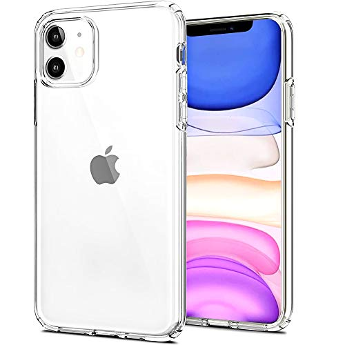 BoxLegend Hülle für iPhone 11 Handyhülle Silikon Schutzhülle Stoßfest TPU Weich Durchsichtige Silikon Hülle für iPhone 11 6,1