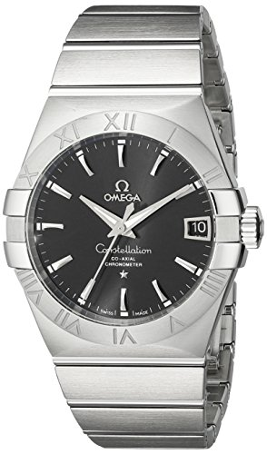 Omega Men's 12310382101001 Constellation Analog Display Swiss Automatic Silver Watch