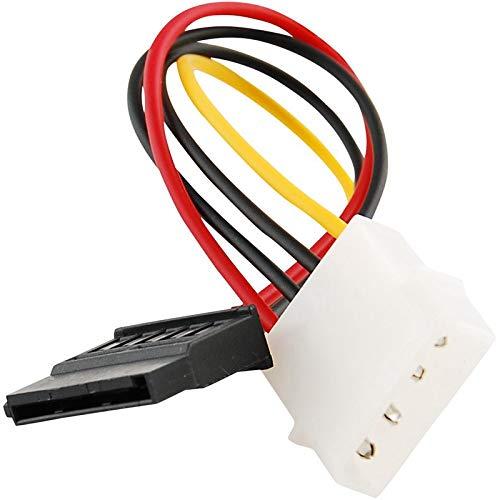 Cikuso Ide/Molex/Ip4/4-Pin A Sata Cable Adaptador Conversor Conector de 15 Pines de Potencia