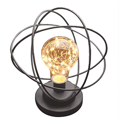 Atomic Age Metal Accent Light