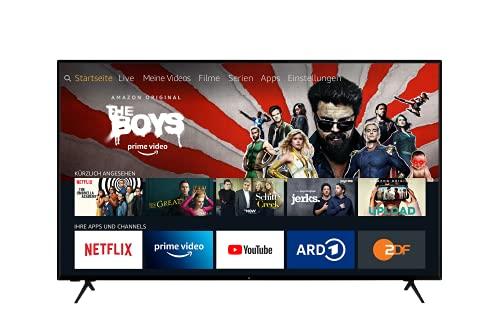 ok. 4K Ultra HD Fernseher - Fire TV, Smart, Alexa Sprachsteuerung, Triple Tuner, HDR (65