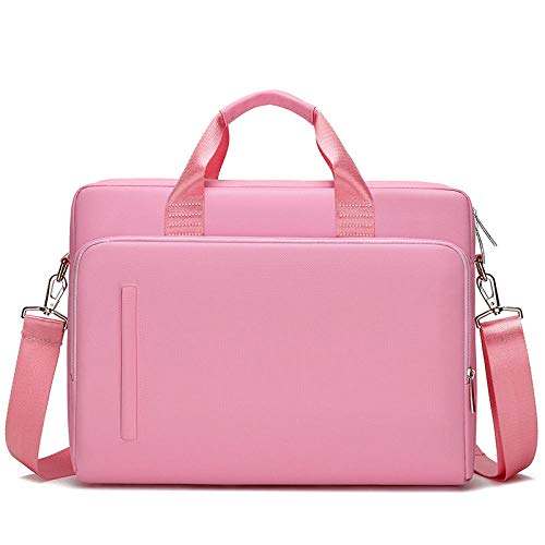 Laptop Bag 14 15.6 Inch Notebook Case for MacBook Air Pro 13 15 Computer Shoulder Handbag Briefcase Bag-Pink_13-inch