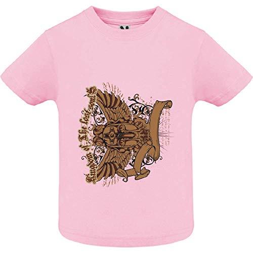 LookMyKase T-Shirt - Lost Soul - Bébé Fille - Rose - 6mois