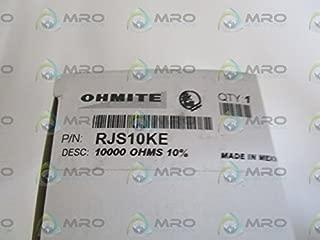 OHMITE RJS10KE RHEOSTAT, WIREWOUND, 10KOHM, 50W