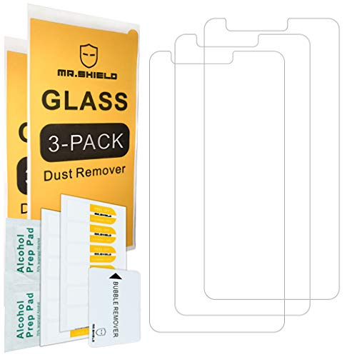 [3-PACK]- Mr.Shield For ZTEBladeT2Lite [Tempered Glass] Screen Protector [Japan Glass With 9H Hardness] with Lifetime Replacement