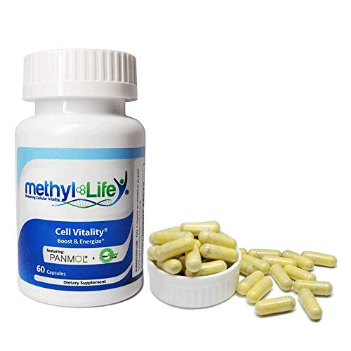 Methyl-Life Cell Vitality aka Mito-Vitalize, NADH + CoQ10 = Boost & Energize Cells ; 60 Capsules