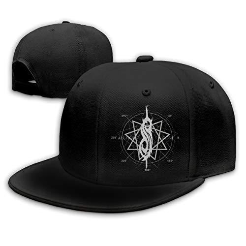 Lucyhu Damen Herren Slipknot All Hope Star Logo Black Snapback Baseball Hat Cap Baseballcap Kappe Flatbrim Mütze Für Jungen Mädchen