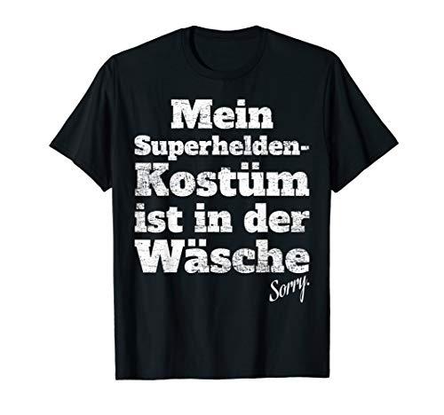 Superheld Kostüm In Der Wäsche Köln Karneval Superhelden T-Shirt