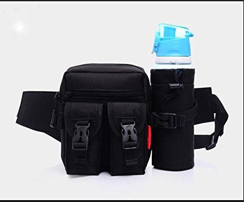 ZYT Sac à outils perdue vélo bouteille d'eau poches taille sac voyage sac pour hommes et femmes à l'extérieur . 5