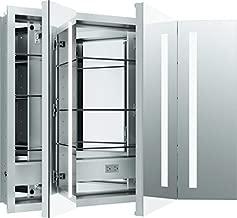 Kohler 99011-TLC-NA Verdera Lighted Medicine Cabinet, Aluminum