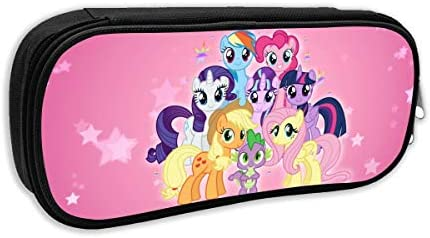 My Little Pony Large Capacity Pencil Case Oxford Pencil Stationery Organizer Pencil Pouch With Zipper For Men Women Arts Crafts Sewing Amazon Com