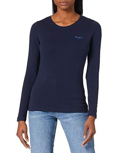 Pepe Jeans Amberta Camiseta, 583 Temas, L para Mujer
