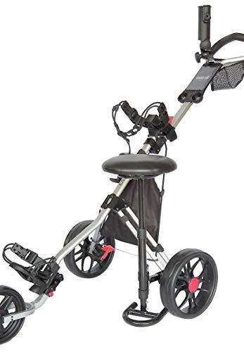 Caddytek Siège Amovible Unisexe pour Chariot de Golf...