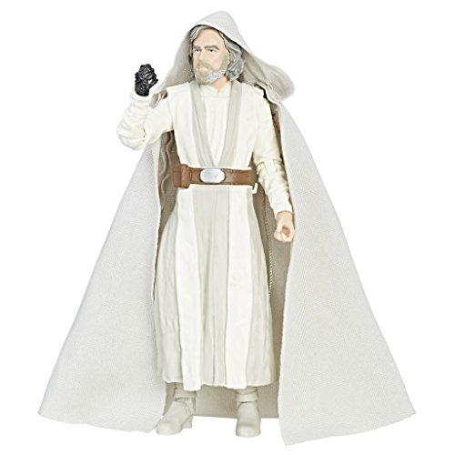 Hasbro Star Wars The Black Series - Luke Skywalker (Maestro Jedi) Personaggio Action Figure 15cm da Collezione con Accessori , C1417ES0